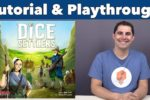 Dice Settlers Tutorial & Playthrough