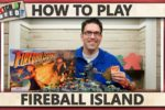 Fireball Island: The Curse of Vul-Kar – How To Play