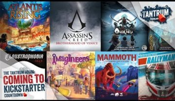 Nov 2018 (1st half) Upcoming Board Games Kickstarter