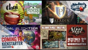 Kickstarter December 2018 – Upcoming Board Games