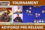 Keyforge Pre-Release tournament