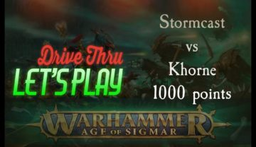 Stormcast vs Khorne – Warhammer: Age of Sigmar 2nd Edition Battle Report