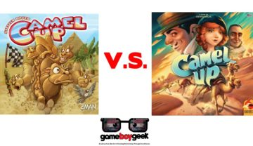 Camel Up 2nd Edition VS Camel Up 1st Edition & Review