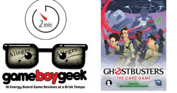 Ghostbusters: The Card Game (Allegro 2-min) Review