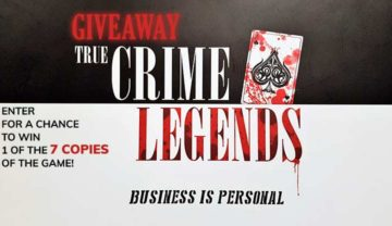 True Crime Legends Giveaway!
