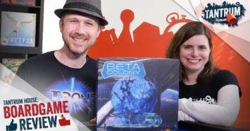 Beta Colony Board Game Review