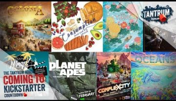 Feb 2019 (2nd half) Upcoming Board Games Kickstarter