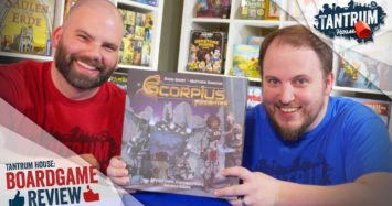 Scorpius Freighter Board Game Review