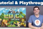 Tiny Epic Tactics Tutorial & Playthrough