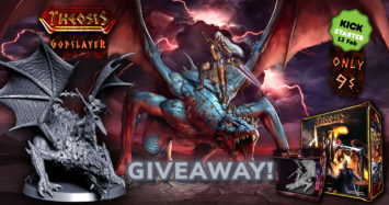 Theosis Base Game + Godslayer Giveaway!