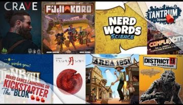 March 2019 (2nd half) Upcoming Board Games Kickstarter