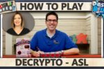 Decrypto – WITH ASL – How To Play
