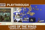 Lord of the Rings – Journeys in Middle-Earth – Unboxing and Playthrough