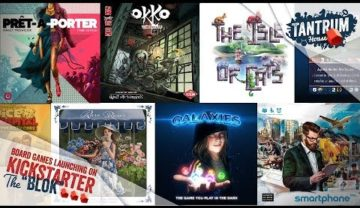 July 2019 (1st half) Upcoming Board Games Kickstarter