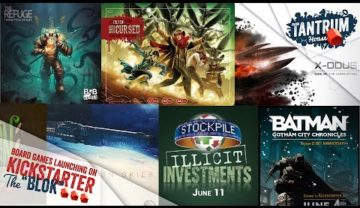June 2019 (1st half) Upcoming Board Games Kickstarter