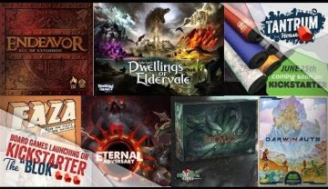 Upcoming Board Games Kickstarter – June 2019 (2nd half)