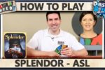 Splendor – WITH ASL – How To Play