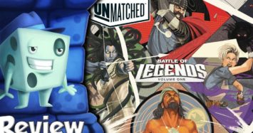Unmatched: Battle of Legends, Volume One Review