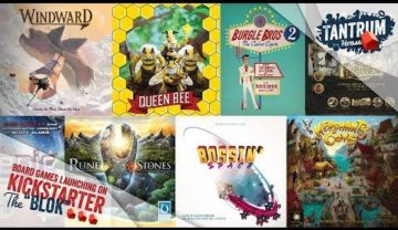 August 2019 2nd half Upcoming Board Games Kickstarter