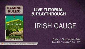 Irish Gauge – Live tutorial and playthrough