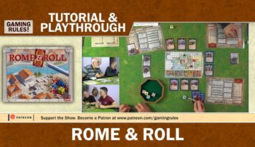 Rome and Roll – Tutorial and Playthrough