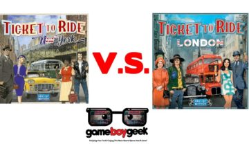 Ticket to Ride London V.S. New York
