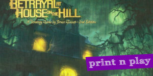 Betrayal at the House on the Hill Unofficial Expansion vol.2