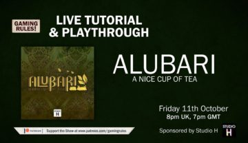 Alubari: A Nice Cup of Tea – Tutorial and Playthrough