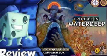 Dungeons & Dragons Dice Masters: Trouble in Waterdeep Campaign Box Review
