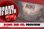 Rone – 2nd Edition Preview