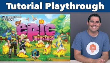 Tiny Epic Dinosaurs Playthrough