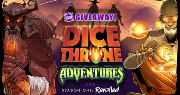 Dice Throne Adventures & Season One: Rerolled Giveaway!