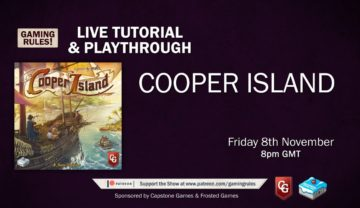 Cooper Island – Tutorial and Playthrough