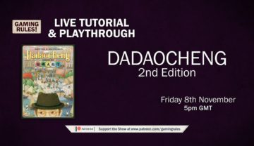 Dadaocheng (2nd Edition) – Tutorial and Playthrough