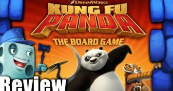 Kung Fu Panda: The Board Game Review