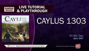 Caylus 1303 – Live tutorial and playthrough