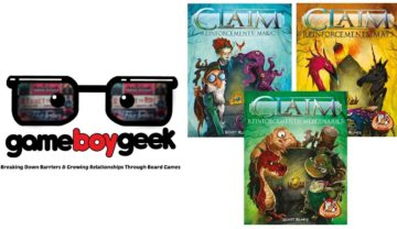 Claim (3 Expansions) Review with the Game Boy Geek