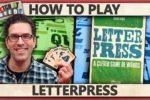 Letterpress – How To Play