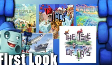 Oceans & Isle of Cats First Look – with Tom Vasel
