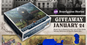Pacific Rails Inc. – Deluxe Kickstarter Giveaway!