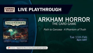 Arkham Horror LCG: The Path to Carcosa – Chapter 5