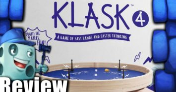 KLASK 4 Review – with Tom Vasel