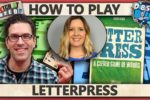 Letterpress – With ASL – How To Play