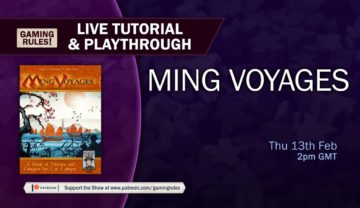 Ming Voyages: Tutorial and Playthrough