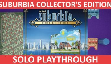 Suburbia Collector's Edition with Nightlife Expansion Playthrough