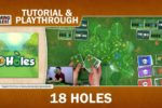 18 Holes – Tutorial and Playthrough with Gaming Rules!