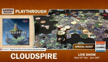 Cloudspire: 2-player Playthrough with Paul Grogan and Mark Dainty