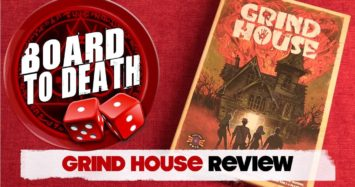 Grind House Board Game Video Review
