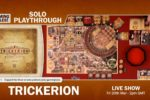 Trickerion – Solo Playthrough with Gaming Rules!