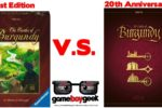 Castles of Burgundy 20th Anniversary Edition Review & Comparison with the Game Boy Geek